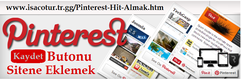 Pinterest Kaydet Butonu Sitene Eklemek