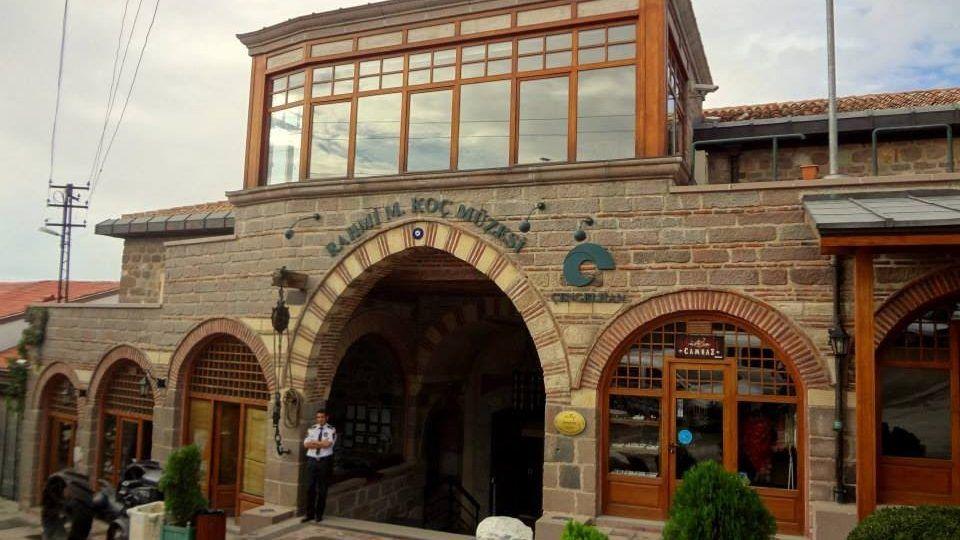 """Ankara'da Gezilecek Yerler """"Çengelhan Rahmi Koç Müzesi"""""""
