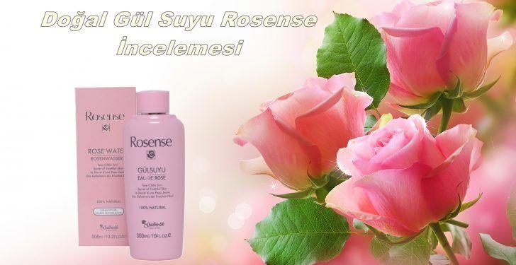 Rosense Doğal Gül Suyu