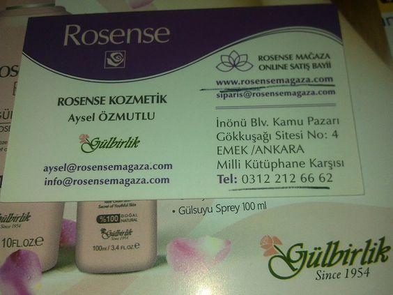 Gülbirlik Rosense internet alışverişi