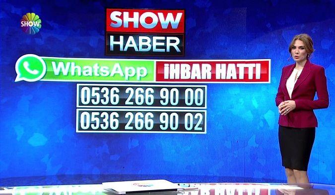Show Tv Whatsapp İhbar Hattı