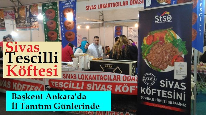 Sivas'ın İlk Tescilli Köftesi Ankara'da
