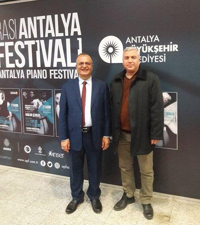 Dr.Suat AKGÜL Antalya Piano Festivalinde