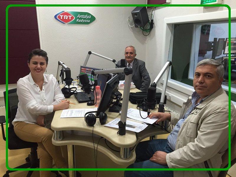 Dr.Suat AKGÜL TRT Antalya Radyosuna Konuk Oldu