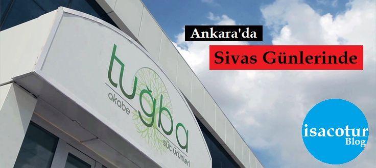 Tuğba Akabe Süt Ürünleri Sivas Günlerinde