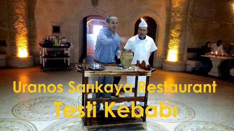 Uranos Sarıkaya Restaurant Testi Kebabı