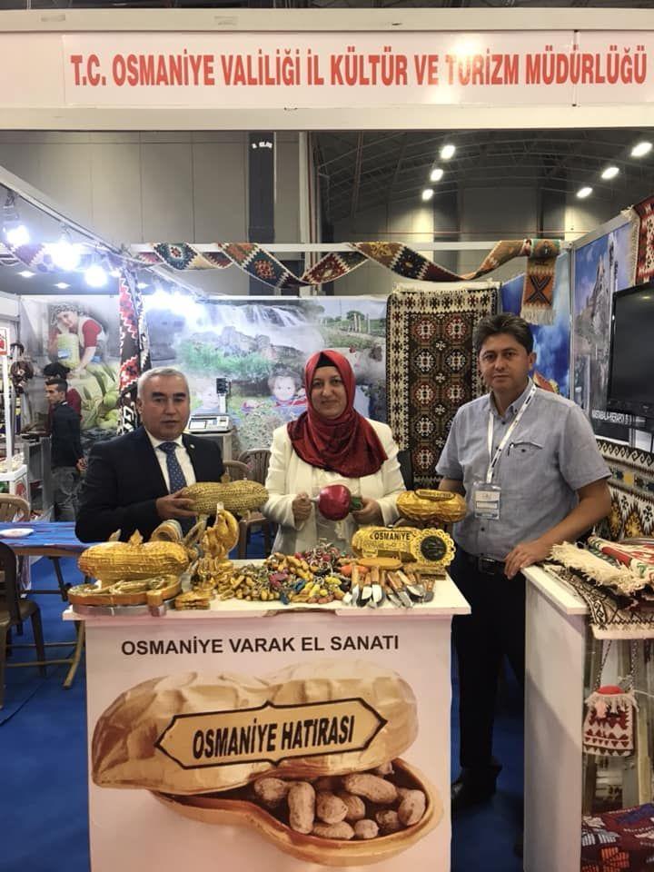 Van Turizm ve Seyahat Fuarında Osmaniye Standı 2018 Osmaniye valiliği ve kültür turizm müdürlüğü