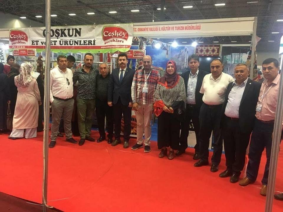 Van Turizm ve Seyahat Fuarında Osmaniye Standı 2018