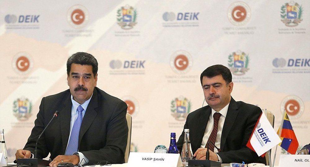Veneüzella lideri Nicolas Maduro Türkiye-Venezüella İş Forumu'na Katıldı