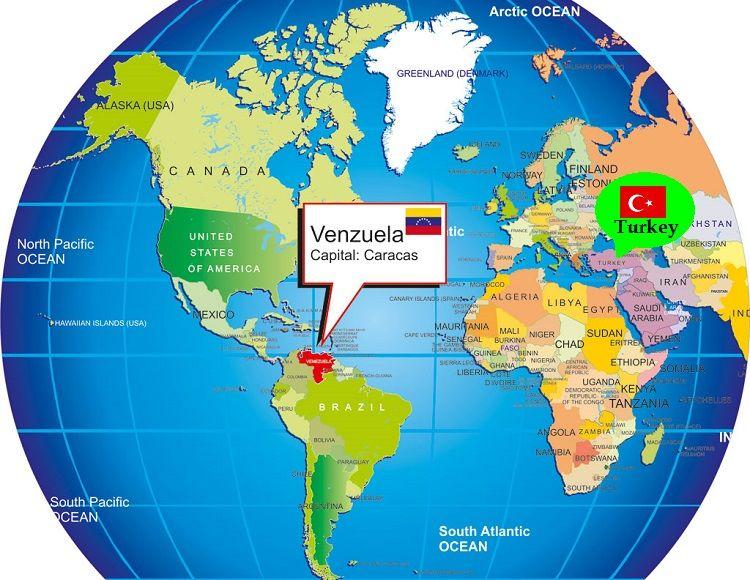 Venezuela Nerede Harita / Venezuela Map
