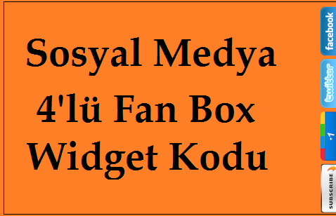 Fan Box Widget Kodu