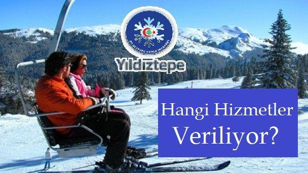 Yıldıztepe Kayak Merkezinde Hangi Hizmetler Veriliyor