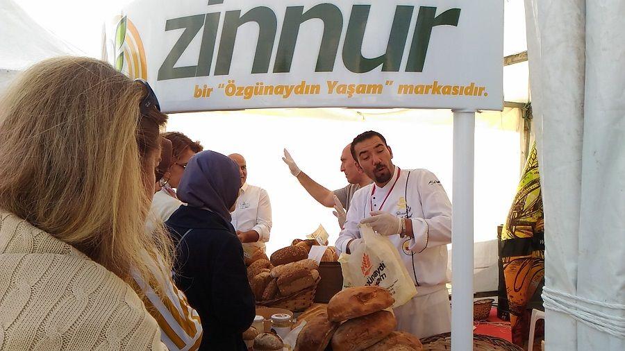 Özgünaydın Zinnur 2.Ekmek Festivalinde