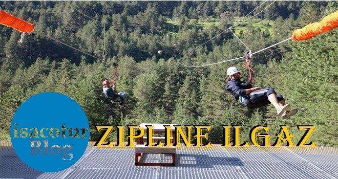 Türkiye'nin en uzun zipline Ilgaz Dağı Yıldıztepe