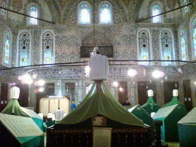 sultan ahmet I. sandukasi