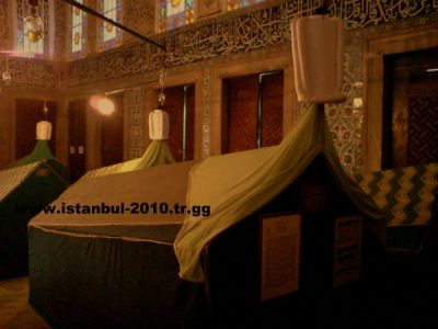 sultan murat tomb hazrat turbesi sandukasi