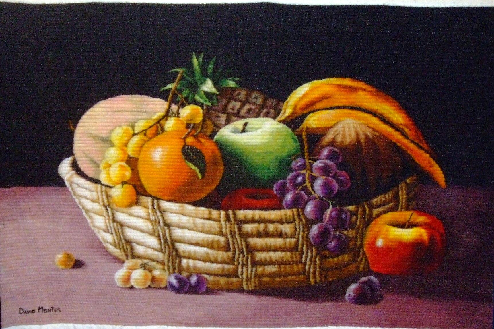 dibujos de bodegones de frutas