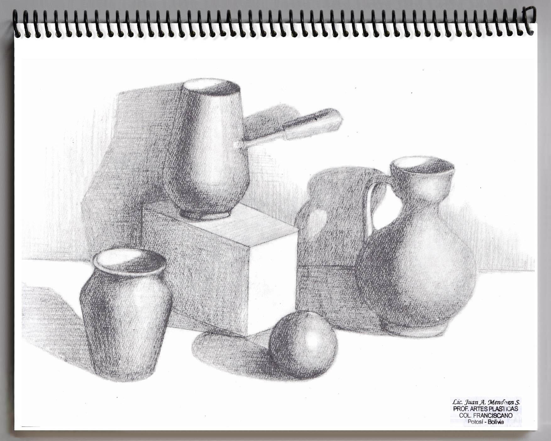 Juan mendoza pr cticas de dibujo art stico 1ro - Laminas de dibujo artistico ...