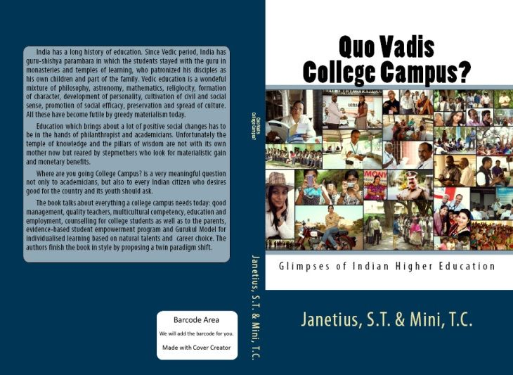 Quo Vadis, Higher Education, Indian Education, Janetius