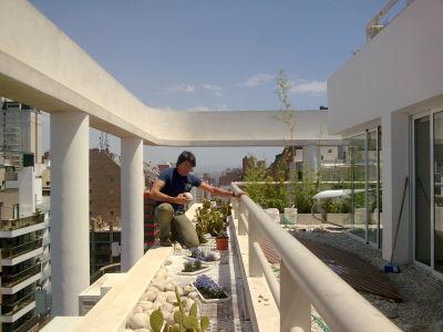 Holistic design dise os para el alma balcones terrazas for Terrazas interiores
