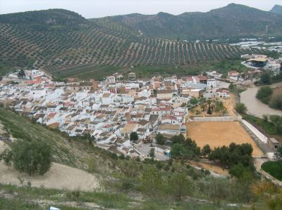 vista desde la ladera