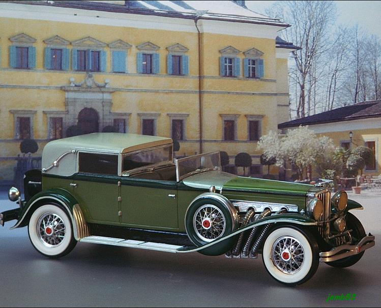 Modellbau Jemb53 Duesenberg Sj Town Car 1934 Gr 252 N