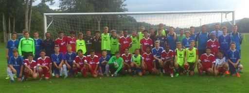 Die JFG Rödental organisiert am 2. September 2015 ein Fußballspiel mit jugendlichen Asylbewerbern
