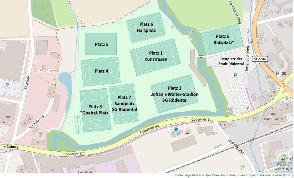Rödental - Städtische Sportanlage