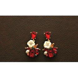 american diamond stud earrings