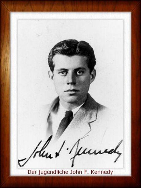 Der jugendliche John F. Kennedy