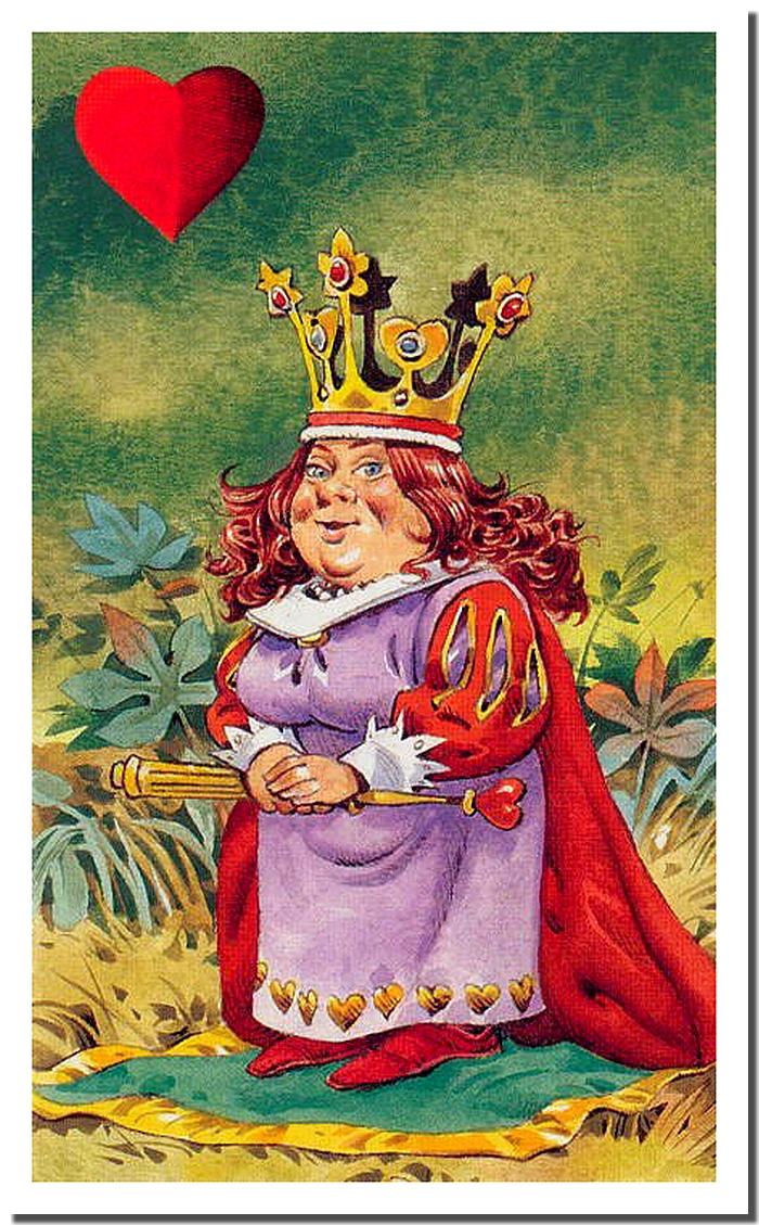 Королева кубков картинки