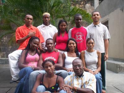 Jóvenes de la Pastoral Afrocolombiana