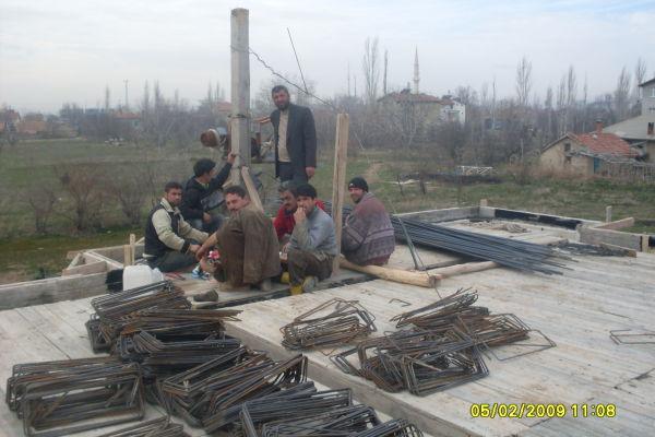 betonarma demir işçiligi
