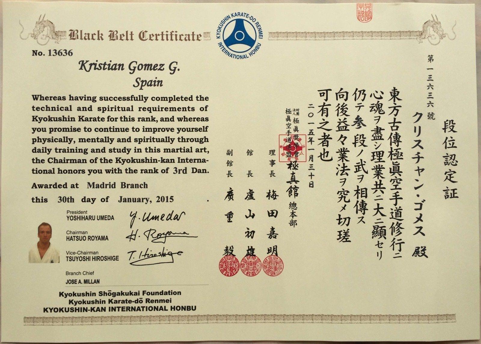 club kankukan dojo - kyokushin karate