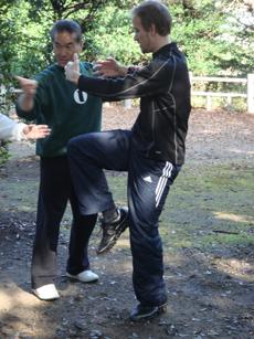 Kristian Gomez Gunnebring With Kancho Hatsuo Royama