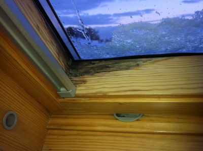 Schimmelbefall dachfenster probleme dachfenster for Fenster undicht