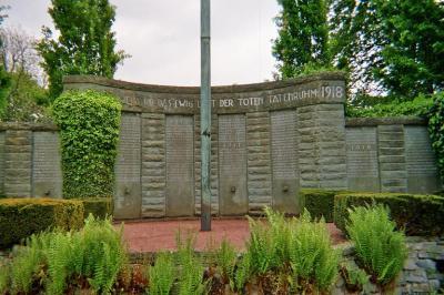Ehrenmal der Gefallenen des 1. Weltkrieges der Stadt Geseke