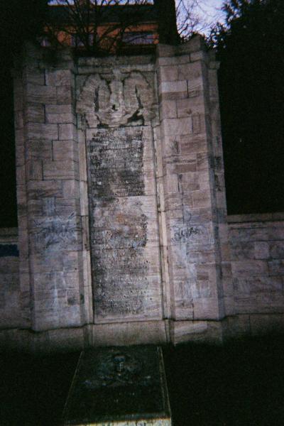 Kriegerdenkmal in Charlottenburg