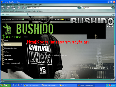 BUSHIDO TASARIMI