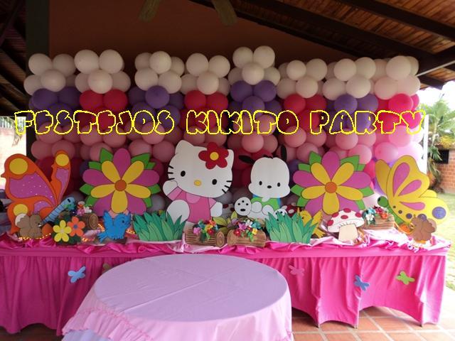 Festejos kikito party mesas fantasias - Decoracion hello kitty ...