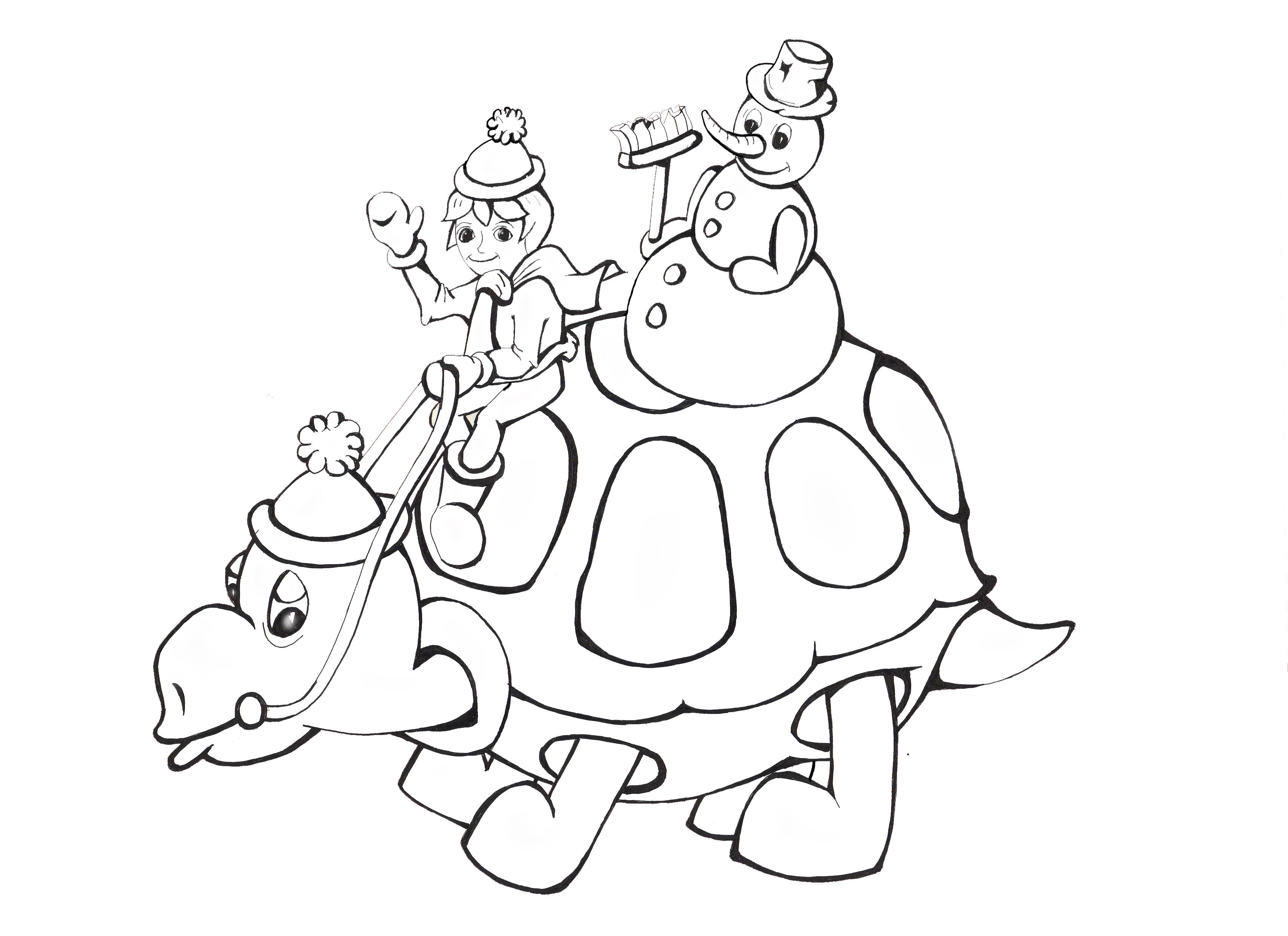 Kinderzeit mit Retzi - Malbuch