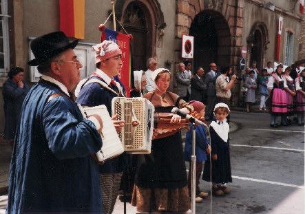 Louhans Folkloregruppe