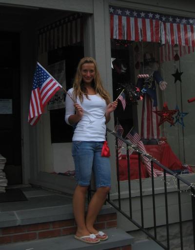 ich mal patriotisch