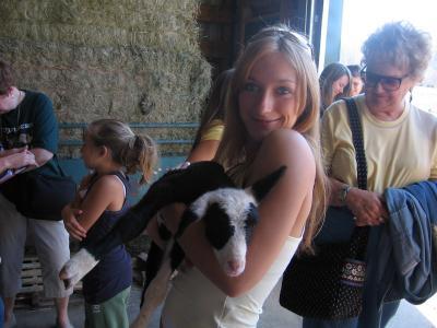 ich mit Schaf