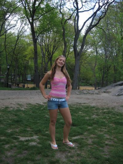 ich im Central Park