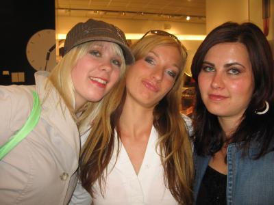 Nele, ich und Marina (v.l.)