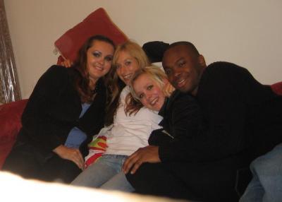 Kathy, ich, Nele und Robert (v.l.)