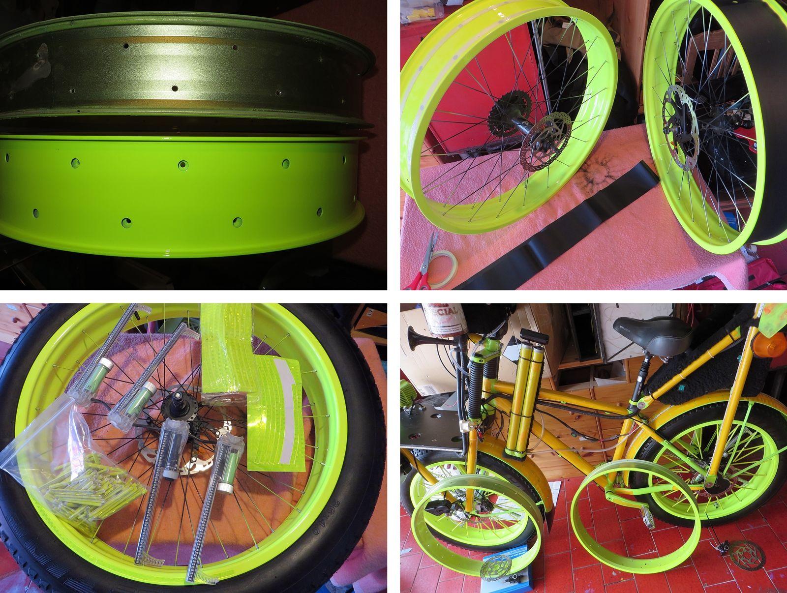 Kloi Muck Party Led Fahrrad