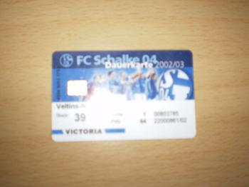 Dauerkarte Schalke