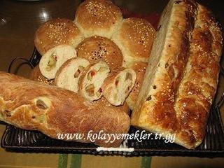 Ekmekler Mayalı Tarifler